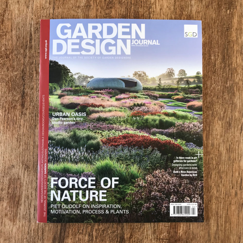 Colm Joseph Gardens - garden design journal cambridge designer